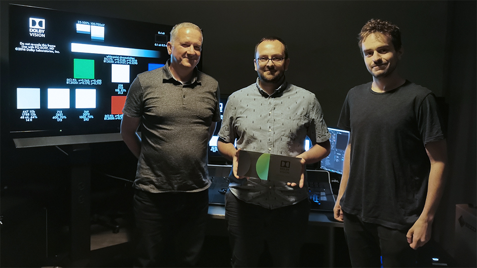 Fixafilm – the only company in Poland with Dolby Vision certification!