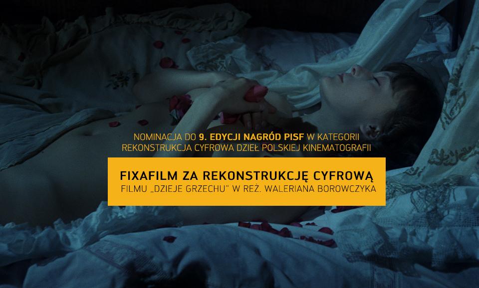 """9. edycja Nagród PISF w kategorii """"Rekonstrukcja cyfrowa dzieł polskiej kinematografii"""""""